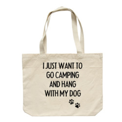 Camping with Dogs Calico Bag