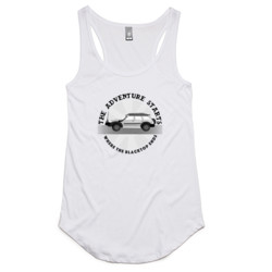Adventure Patrol Ladies Racerback Tank (Light Colours)