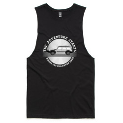 Adventure Patrol Mens Muscle Tank (Dark Colours)