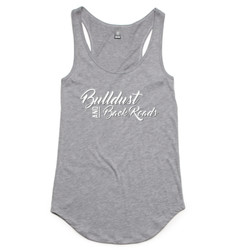Bulldust and Back Roads Script Ladies Tank