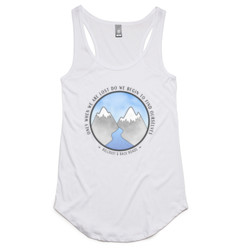 Get Lost Ladies Racerback Tank